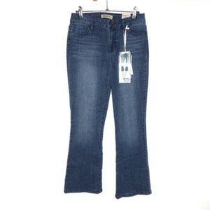 Blue Spice (5) (27x26) High Rise Flare Crop Jeans